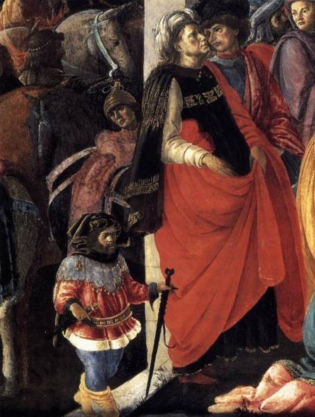 Adoration Of The magi detail